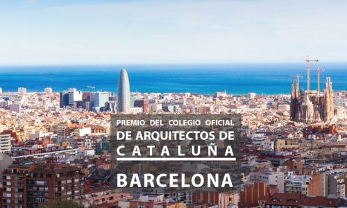 Jury for the Official College of Architects of Catalonia Prize. Barcelona, Spain