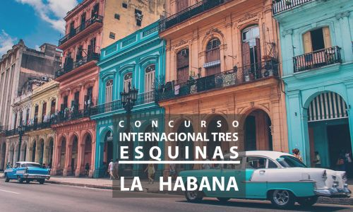 Jury for the Tres Esquinas international contest. Havana, Cuba