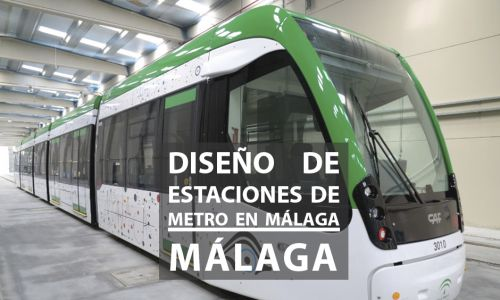 Jury for the ideas competition for the design definition of the stations and stops of lines 1 and 2 of the Málaga metro. Malaga, Spain