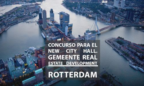 Jury for the contest for the New City Hall. Gemeente Real Estate development. Rotterdam, Holland