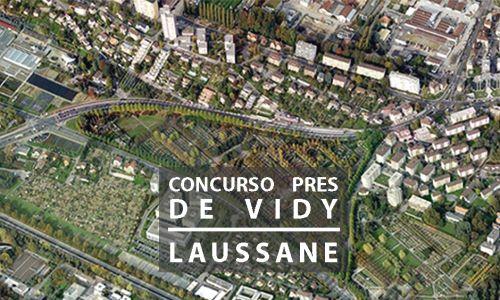 Jury for the Prés de Vidy Competition. Laussane, Switzerland