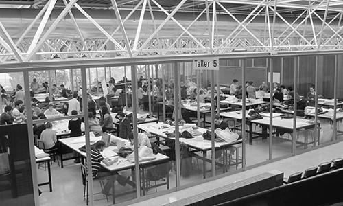 Docencia cruz y ortiz arquitectos for Escuela tecnica superior de arquitectura