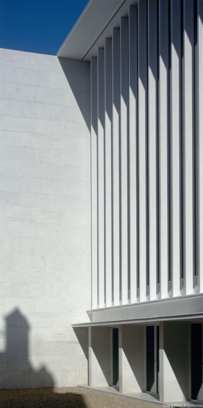 Cruz y ortiz arquitectos consejeria cultura sevilla design exterior oficinas patio cruz y for Exterior oficinas