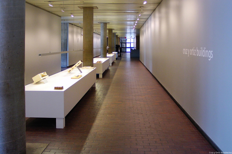 Cruz Y Ortiz Arquitectos 39 Cruz Y Ortiz Buildings 39 Monographic Exhibition At Gsd Harvard