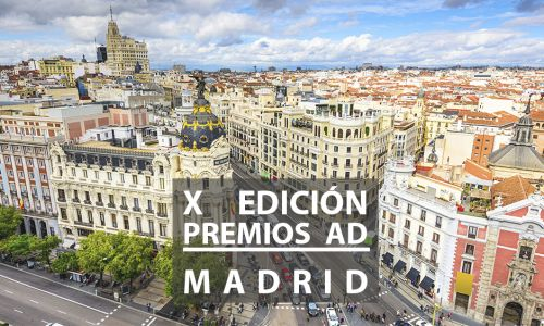 X edición Premios AD. Madrid, España