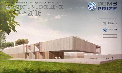 Jury of the DOM3 Prize 2016 II Premio Internacional Arquitectura. Marbella, Spain